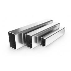 Труба прямоугольная 40х20х1,2 зеркальная AISI 201, L=6 000 мм