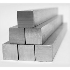 Квадрат нержавеющий из стали AISI 304, 10х10 мм, L=3 100 мм