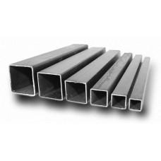 Труба квадратная 40х40х1,0 шлифованная AISI 201, L=6 000 мм